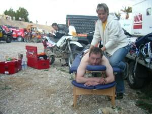 Physiotherapie Motorrad Rallye