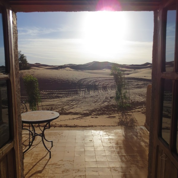Ausblick vom Hotel