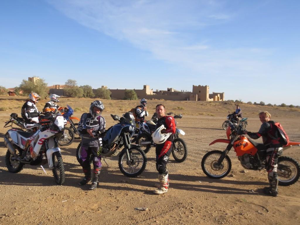 Enduro Motorradtour mit Freunden