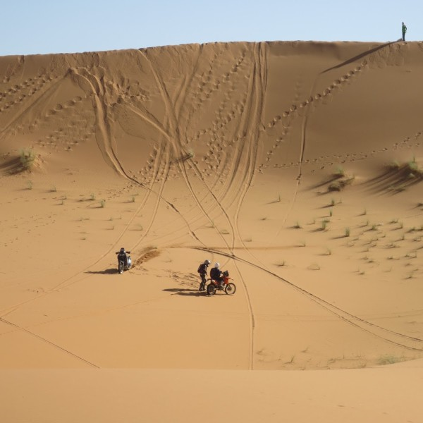 Sand Fahrtraining Marokko